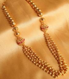 Buy GORGEOUS GOLD DESIGN INSPIRED KEMP NECKLACE Necklace online