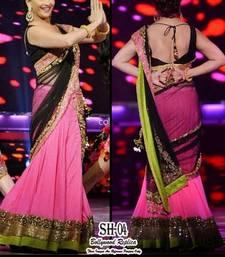 Buy Madhuri Dixit Pink Lehanga choli bollywood-lehenga online