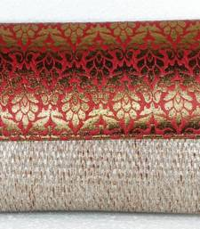 Buy Big Brocade and Jute Indian Envelope Clutch clutch online