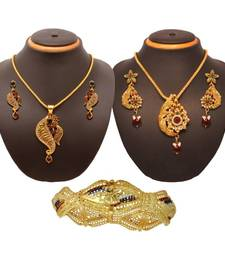 Buy Vendee Fashion Admirable traditional combo jewellery (1399) Pendant online