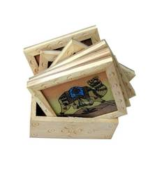 Buy Wooden Tea Coaster other-home-accessory online
