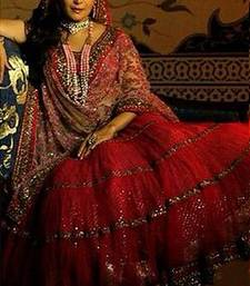 Buy  Madhuri Dixit In Red Lehenga eid-sarees-dress online