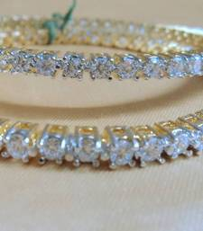 forever cz bangles pair shop online