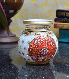 Buy Hand Painted Marble Kalash housewarming-gift online