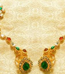 Buy Designer Kundan Haath Phool Hath Panja Ethnic Wedding Jewelry haath-phool-hath-panja online