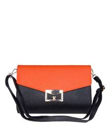 Buy Just Women - Amazing Orange PU Leather Hand Purse wallet online