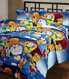 Buy eCraftIndia Doraemon Kids Single Bed Reversible AC Blanket home-furnishing online