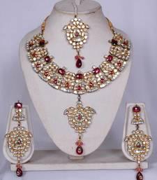 Buy Kundan Classics 008 Necklace online