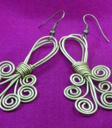 Buy Brass_Wire_Work_Twisted_Earrings  danglers-drop online