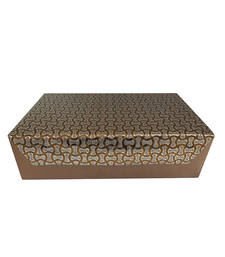 Buy Designer Two 2   Rolls Bangles Box Copper jewellery-box online