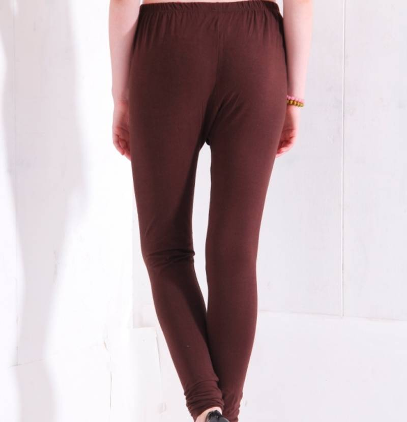 Buy dee fashion house chocolate cotton lycra legging online for Housse lycra