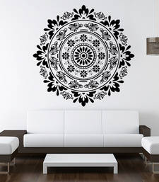 Buy Ethnic floral design wall-decal online