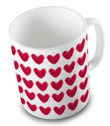 Buy Designer Cute Hearts Printed Beautiful Coffee Mug other-home-accessory online