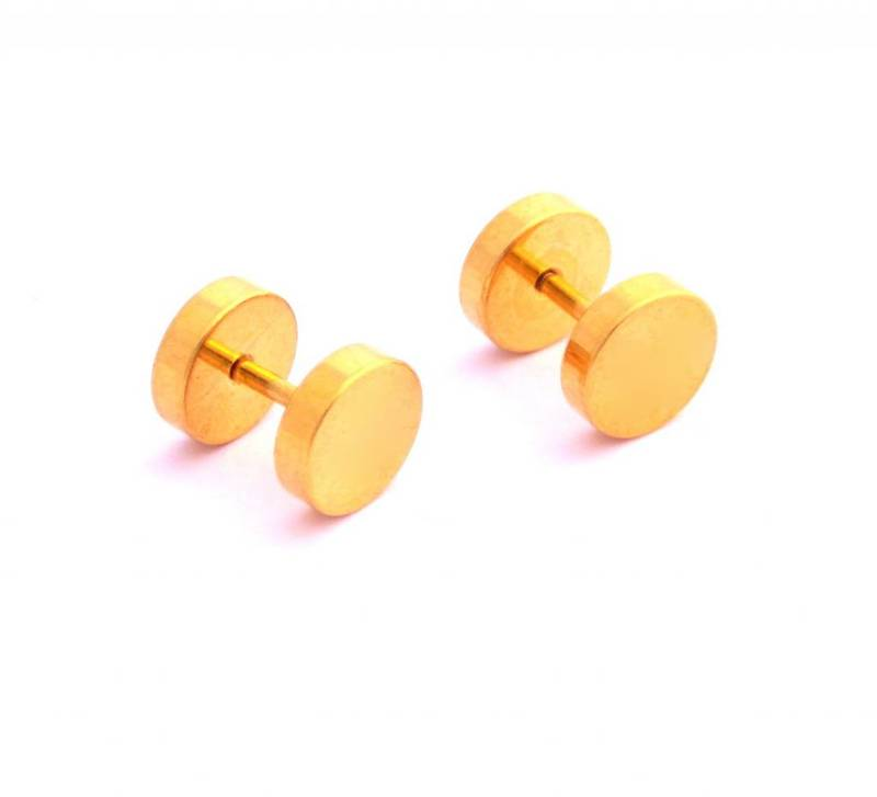 how to take off a barbell earring