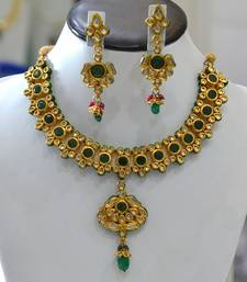 Kundan Green Set shop online