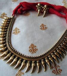 Buy Antique necklace RED necklace-set online