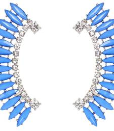 Blue Princess Cuff Earrings shop online