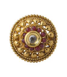 Buy Red yellow gold Ring Ring online