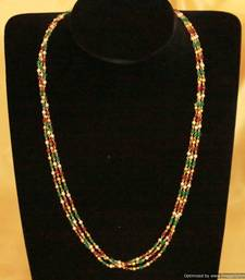 Buy Ethinc Multicolour Necklace Necklace online