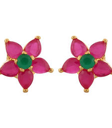 Buy Contemporary Ruby Studded earring stud online