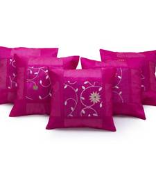 Buy Designer Booti Embroidered 5 Pc Cushion Covers Set other-home-furnishing online