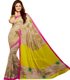 Buy Mutlicolur embroidered silk saree with blouse silk-saree online