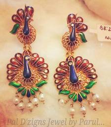 Buy Peacock Raani  danglers-drop online