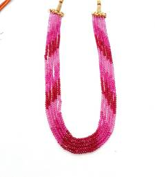 Buy Ruby Look Shaded Strand Necklace online