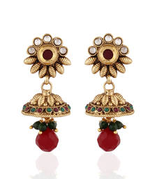 Buy Timeless Beauty antique jhumka jhumka online
