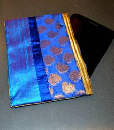 Buy Silk pouch - Blue  ipad-cover online