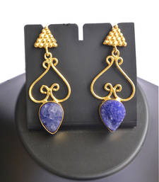 Buy Amethyst earrings gemstone-earring online