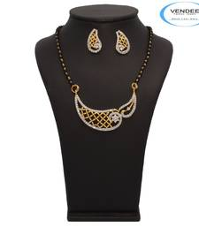 Buy Vendee Fashion Awesome Designer Mangalsutra Pendant Set (7214)  mangalsutra online