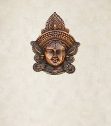 Buy Metal Goddess Durga Wall Hanging wall-art online