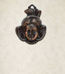 Buy Lord Shiva Metal Wall hanging wall-art online