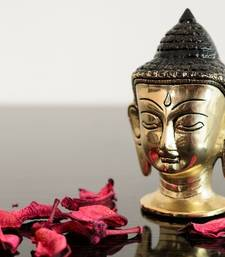 Buy Metal Meditating Buddha Head thanksgiving-gift online