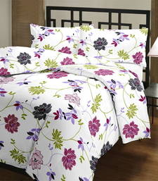 Buy Floral Single Bed Reversible AC Blanket home-furnishing online