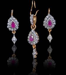 Buy Handmade Red  pendant  sets   Pendant online