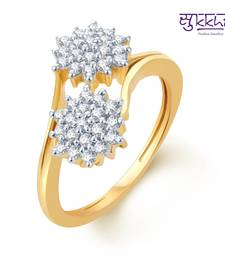 Buy Sukkhi Intricately Crafted Gold and Rhodium Plated CZ rings(172R600) Ring online