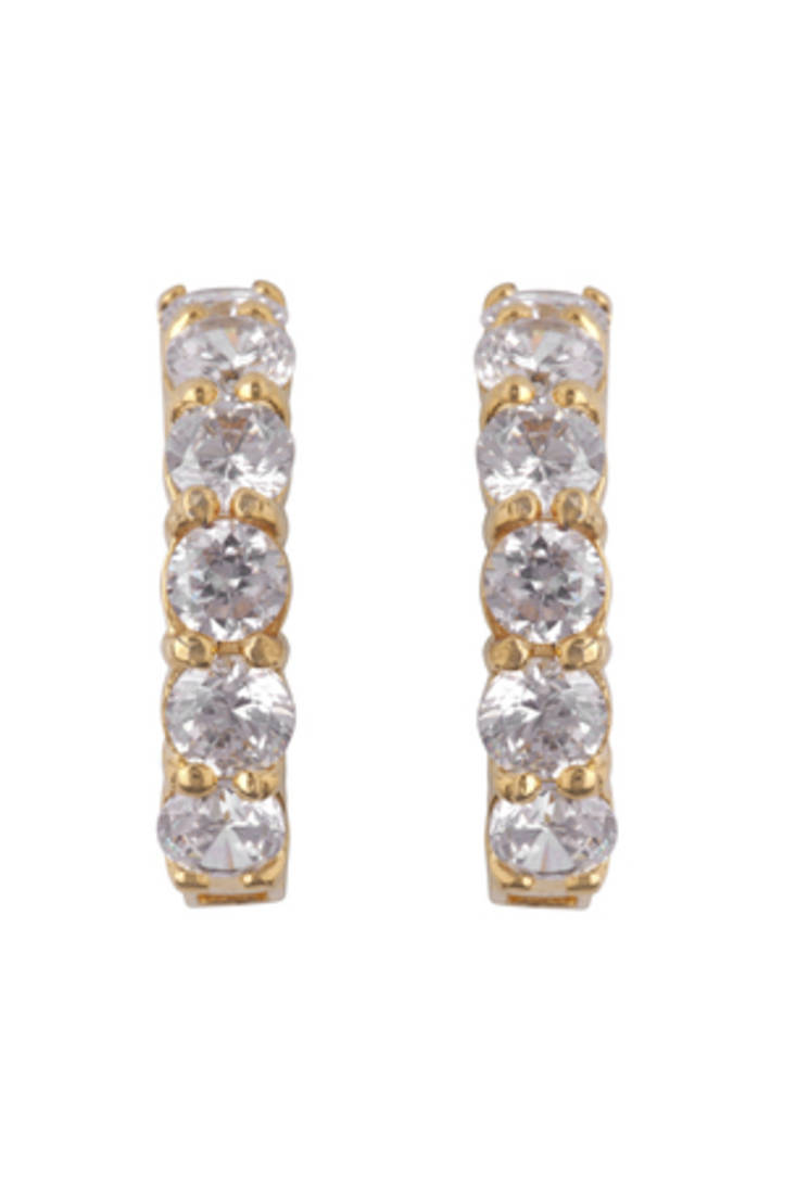 to wear - Buy design latest diamong loop earrings online video