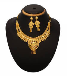 Buy gold  necklace-sets necklace-set online