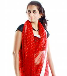 Buy Lace Up net-saree online