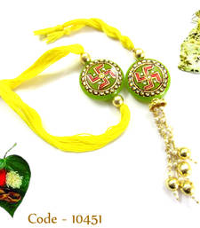 Buy Rakhi for Bhaiya & Bhabhi rakhi-gift-hamper online
