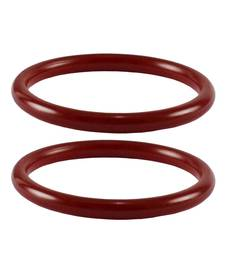 Buy Acrylic bangles color-Red bangles-and-bracelet online