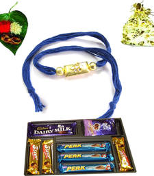 Buy Best offers on Rakhi with Gifts rakhi-with-chocolate online