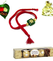 Buy Buy online Rakhi with gifts and chocolates rakhi-with-chocolate online