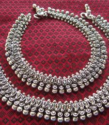 Buy Oxidized Payal / anclet anklet online