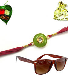 Buy Designer Jewel Rakhi for Bhaiya gifts-for-brother online