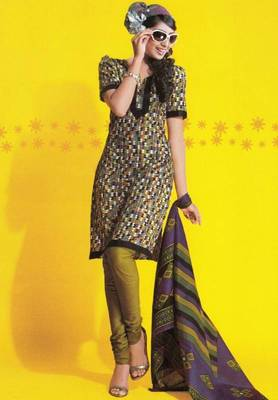 Dress material cotton designer prints unstitched salwar kameez suit d.no 1740