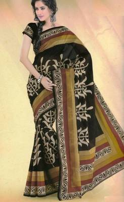 Elegant Mal Mal cotton saree with blouse piece d.no PW102