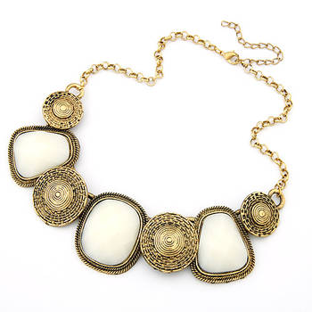 Oversized Chic Diamante Necklace
